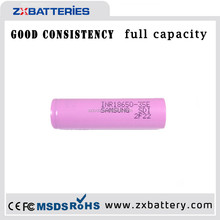 High quantity Samsung wholesale PINK 18650 3500mah battery INR18650 35e high drain rechargeable battery
