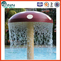 Special design fountain mushroom water park equipment for sale water play equipment