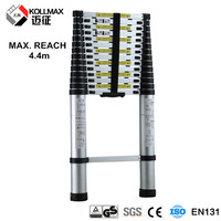 long magnesium step telescopic ladder 14 steps
