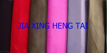 Polyester and cotton twill Silk Look fabric with tc bonded