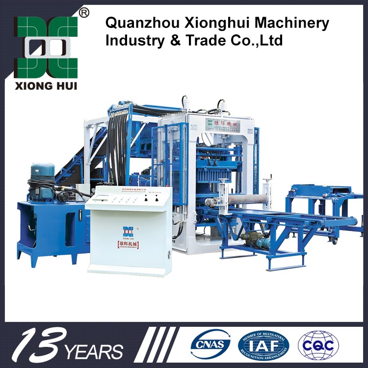 XH03 Automatic Hollow Block Machine In Philippines