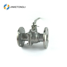 JKTL WCB stainless steel API 2pc 4 inch pn16 flanged ball valve