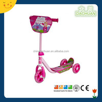 Hot selling three wheel kids scooter with strong steel and PVC wheel for sale in 2013