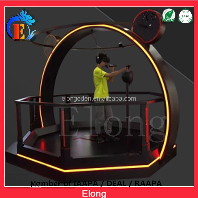 Hot sale VR Infinite Space Walking Platform 9d vr simulator 9d vr game machine