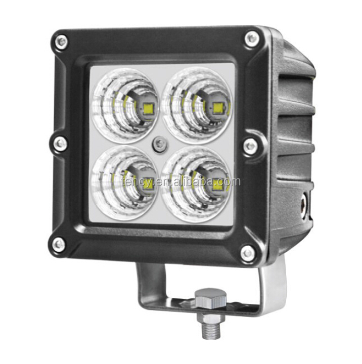 LED Work Light (KF-W4040),4Pcs * 10W Powerful LED