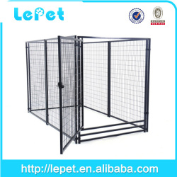 Custom logo high quality heavy duty expendable outdoor large steel dog cage