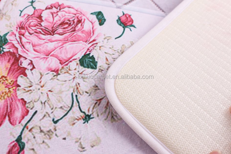 Hot Selling 3D printed cheap customized coral mat
