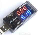 NEW USB Current Voltage Tester USB Voltage Ammeter USB Detector Double Row Shows