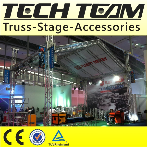 2014 Beijing Aluminum Truss Trade Show Booth