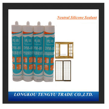 Acetic silicone sealant ,General glass assemble, acid silicone sealant