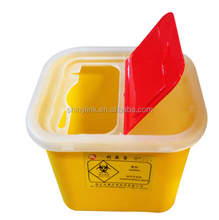Hospital medical sharps container