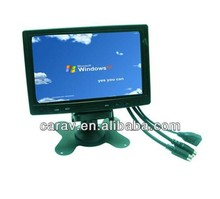 "7 ""Touch screen/touch monitor/7 pollice IP65 impermeabile monitor lcd con ingresso 12 v dc"