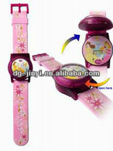 Fashion silicone interchangeable jelly candy wrist watch