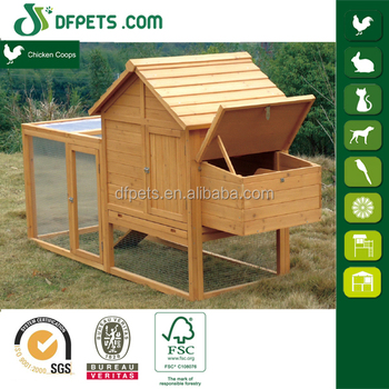 DFPETS DFC1204 Outdoor Industrial Wooden Layer Chicken Cage