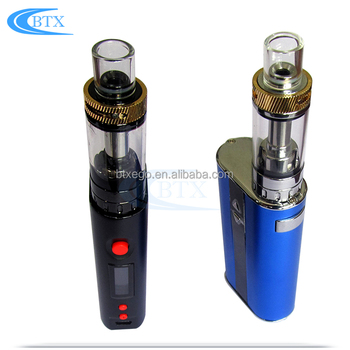 2200mAh big battery changeable box mod 150W atomizer tank