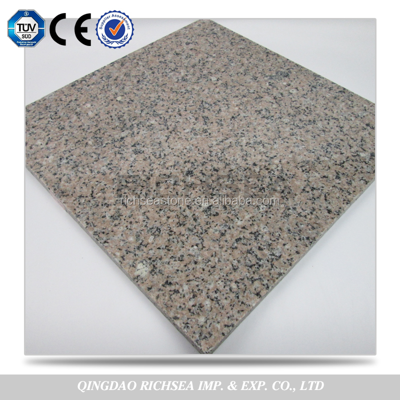 Cheap Price 2.8 g/cm3 Density of Pink Crushed Granite tile for sale
