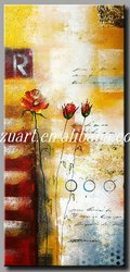 Modern Handmade Abstract Oil Painting on Canvas