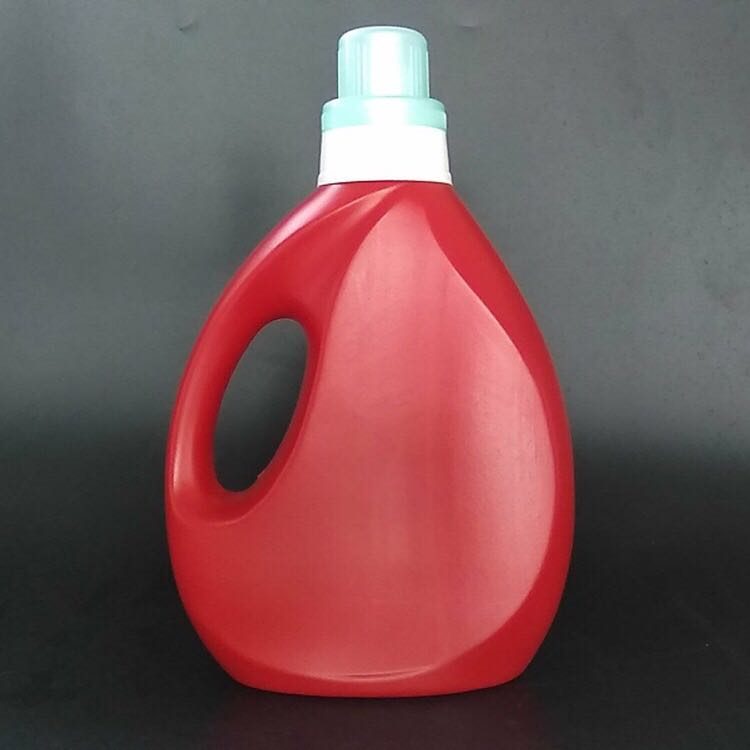 popular high quality purple hdpe plastic material 1000ml/1L liquid laundry detergent bottles in china