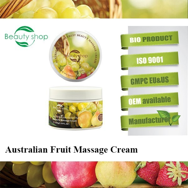 2015 best face massage cream/Beauty skin care face massage cream manufacture