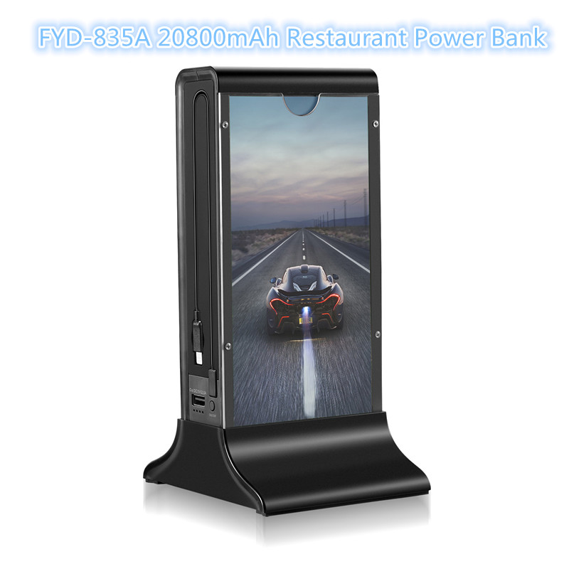 FYD-835A menu holder multi public mobile cell phone charging station
