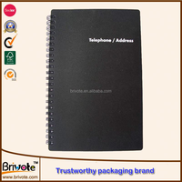 notebook supplier/high quality/notebook with elastic closure