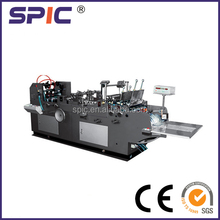 Fully automatic paper envelope folding and gluing machine