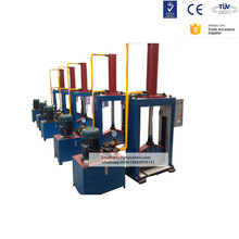 Vertical type rubber cutting machine / hydraulic guillotine for rubber