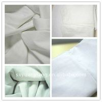 "60s 90*88 58"" 75gsm cotton bleached fabric"
