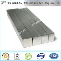 ASTM A276 Polish 316L Stainless Steel Square Bar