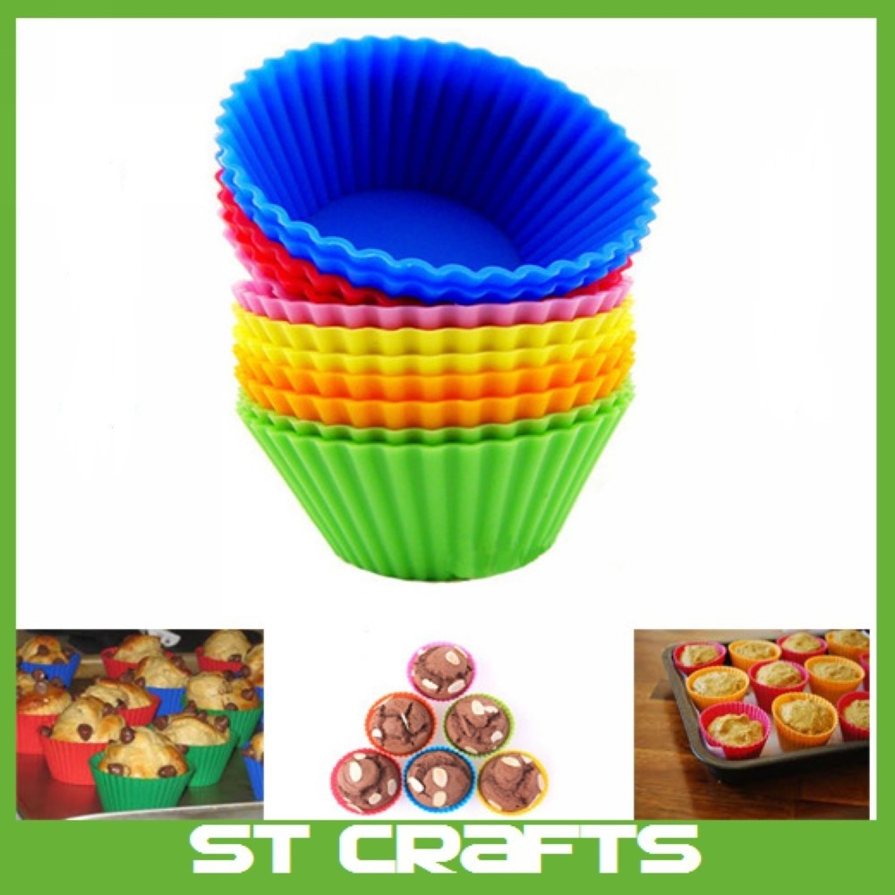 Customized hot selling silicone cake mold food grade silicone baking cake cup/cake pan