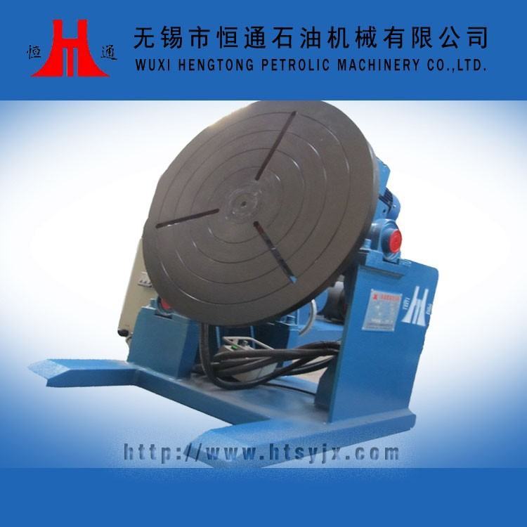 precision tank rotor welding turning table
