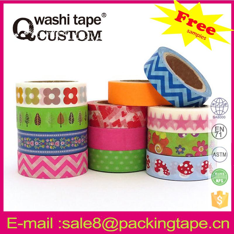 Multifunctional environmentally friendly washi tape free <strong>sample</strong>