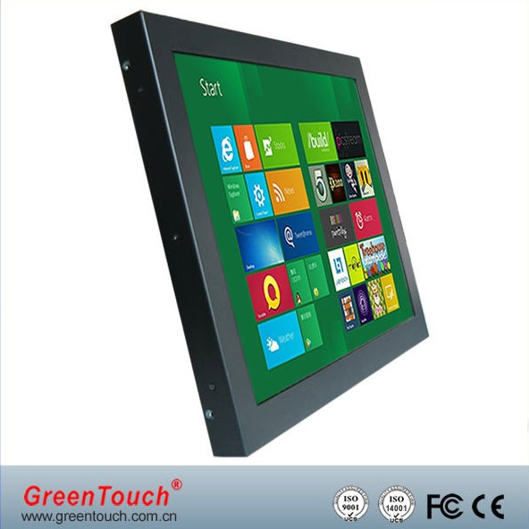 GREEN TOUCH 12.1 inch open frame touch monitor with hdmi,vga,av for industrial application