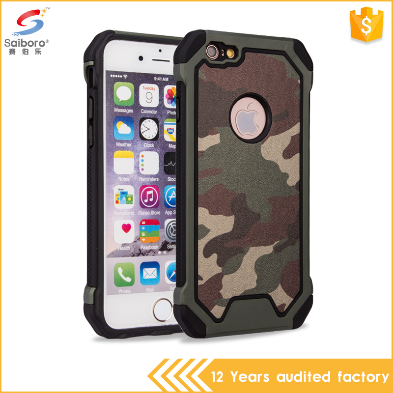 Custom design unbreakable tpu and pc colorful case for iphone6 2016