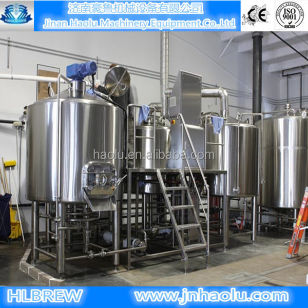 brewery machine with ce,high quality beer brewing equipment