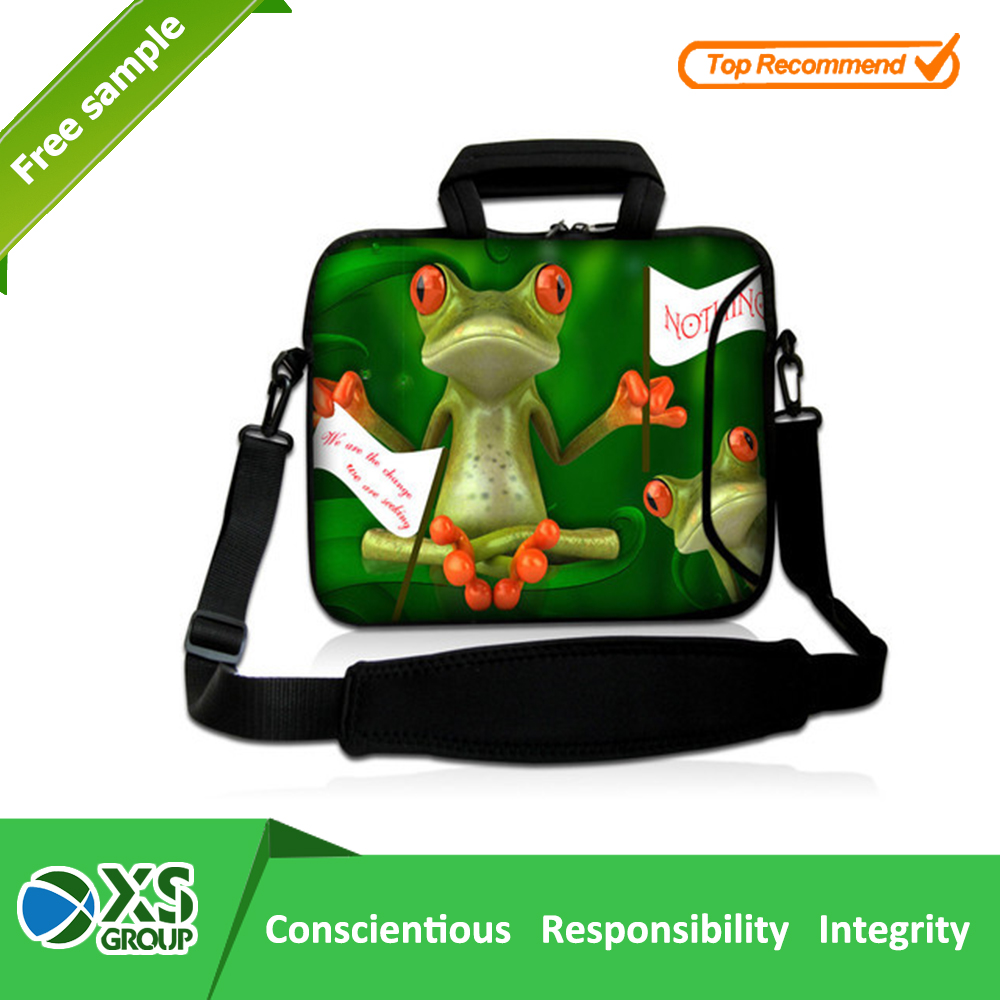 Laptop Sleeve Type and Neoprene Material sublimation neoprene laptop case with zipper