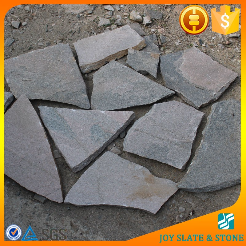 Natural cheap slate flagstone lowes
