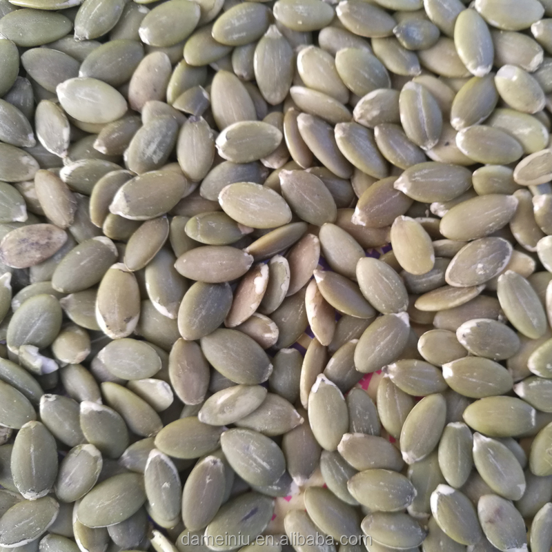 Pumpkin seeds produced in China are clean and delicious