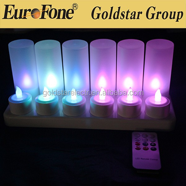 color changing tea light /rechargeable led candle /reasonable price led lighting