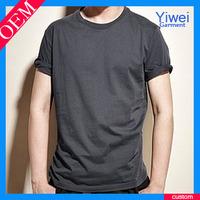 Dark grey blank tshirt no lable wholesale sport tshirt bulk t-shirts