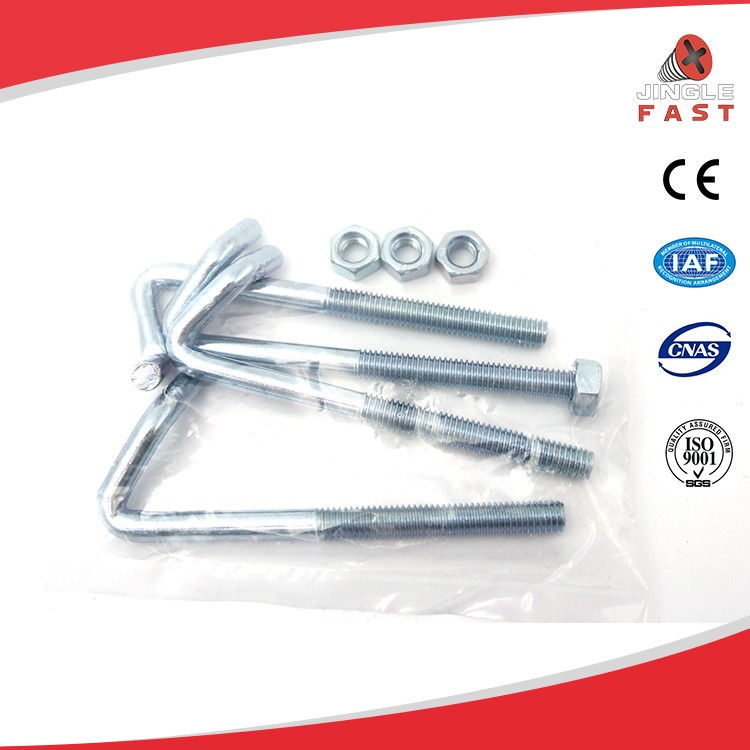 China supplier hot dip galvanized stainless steel hook screws set
