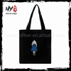 Hot selling rose folding shopping bag With logo printed