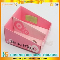 custom folding paper lip balm tubes display package box