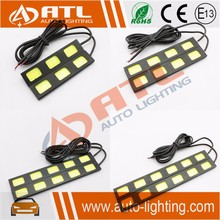 Angel eyes drl with signal light day time running light cover