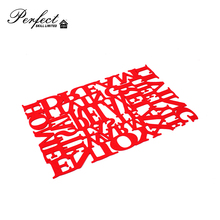 Wholesale cheap price silicone table mat
