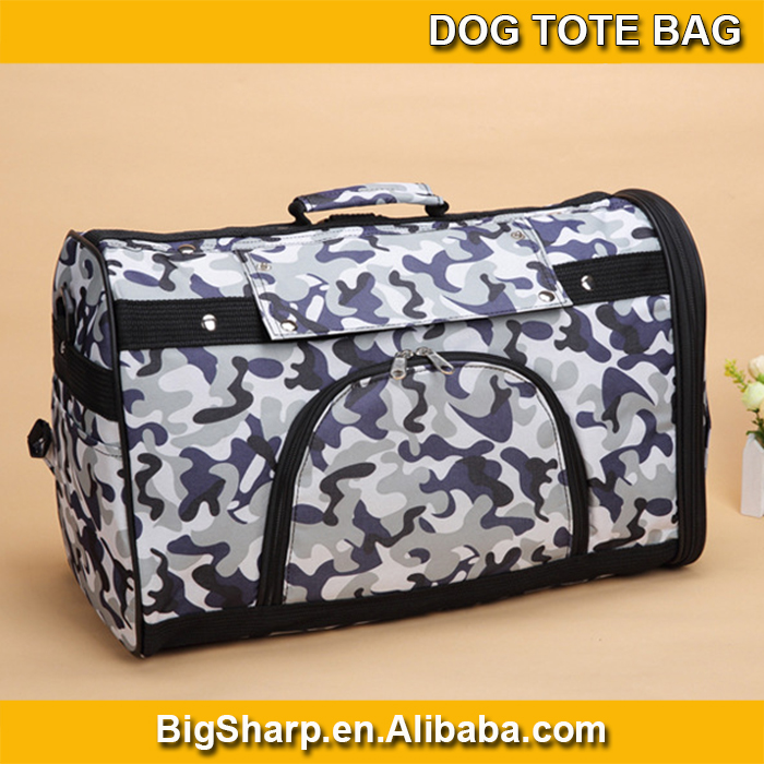 wholesale high quality portable carrier three pattern dog tote bag