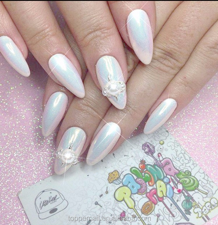 Wholesale Beauty Supply 2017 Holographic Acrylic Nail Mermaid Powder
