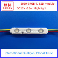 SMD 5050 DC12V 0.8W RGB dream colorful LED module with factory price modulo