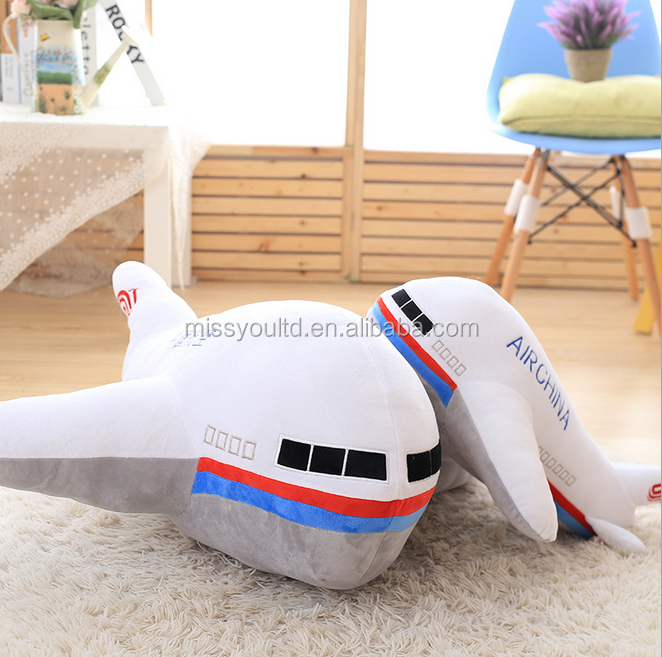 Direct Manufacturer Plush Simulation Model Toy Plane