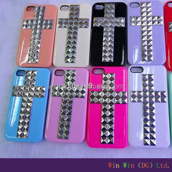 stud case for samsung galaxy s4 for Cool punk spikes studs rivet